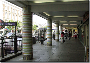 Notting Hill Gate Columns