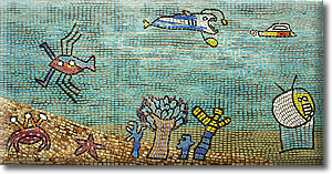 silchester estate mosaic